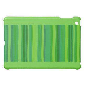 Green Leave & Stripes Case For The iPad Mini