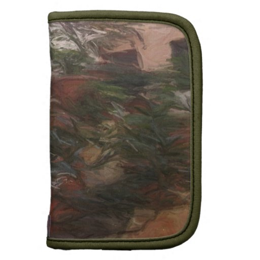 Green Leaves Abstract Organizers