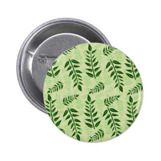 green leaves background button