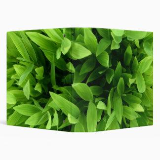 Green Leaves binder