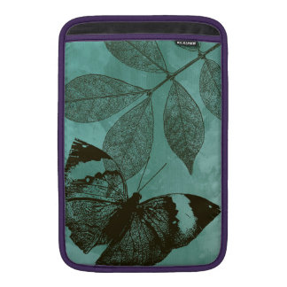 Green Leaves Butterfly Sleeve For MacBook Air
