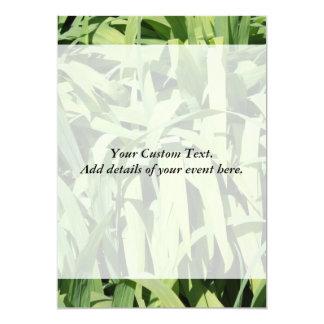 Green Leaves. Card