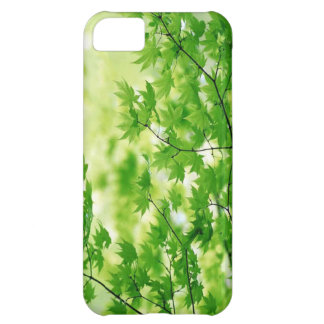 green leaves case-mate cover