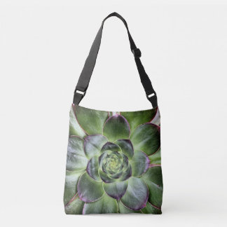 Green Leaves Crossbody Bag