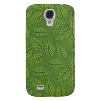 Green leaves galaxy s4 case
