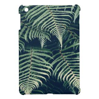 green leaves iPad mini cover