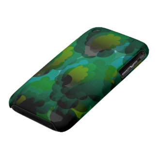 Green leaves iPhone3/3G barelythere case Valxart