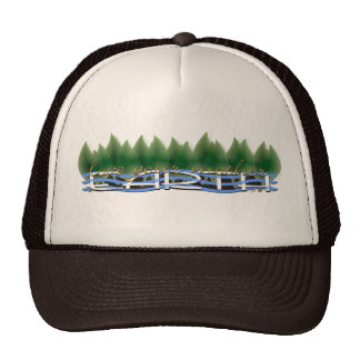 Green Leaves Love Your Mother Earth Trucker Hat