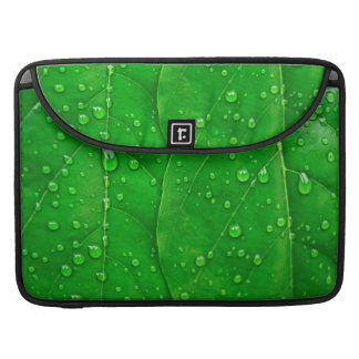 Green Leaves Sleeve For MacBook Pro