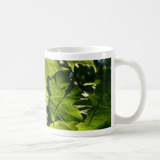 Green Leaves Mug