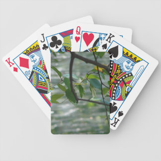 Green Leaves Of Hope Bicycle Playing Cards