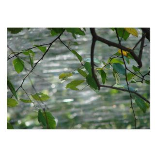 Green Leaves Of Hope Large Business Card