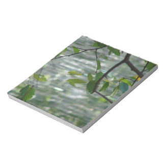 Green Leaves Of Hope Memo Notepads