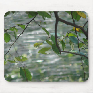 Green Leaves Of Hope Mouse Pad