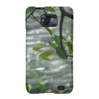 Green Leaves Of Hope Samsung Galaxy S2 Cover