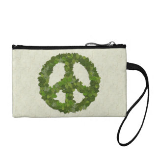 Green Leaves Of Peace Coin Wallet