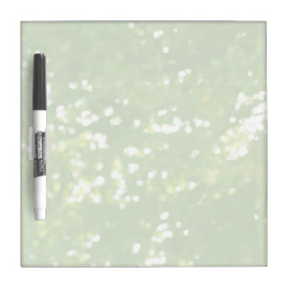green leaves soft focus dry erase board