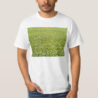 Green Leaves Texture T-Shirt
