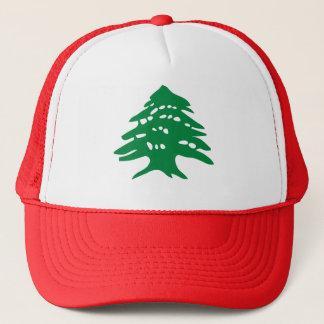 Green Lebanon Cedar Trucker Hat