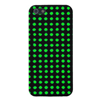 Green Led light iPhone 5 Cover