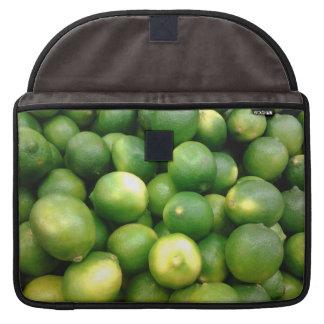 Green Lemons Sleeves For MacBooks