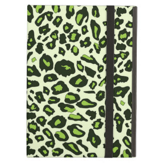 Green leopard print case for iPad air