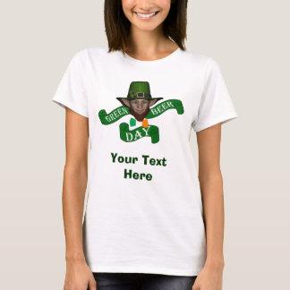 Green leprechaun green beer day T-Shirt
