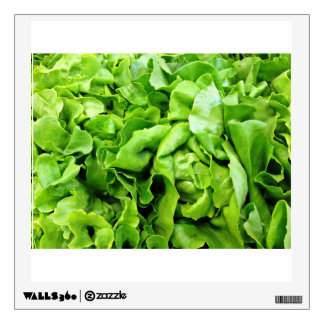 Green Lettuce Wall Decal