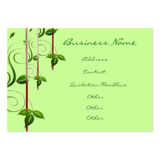 Green Life Business Cards