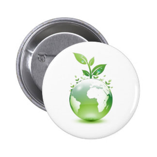 Green Life Button