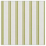 [ Thumbnail: Green & Light Cyan Colored Lined Pattern Fabric ]