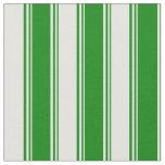 [ Thumbnail: Green & Light Cyan Pattern Fabric ]