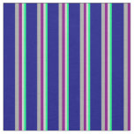 [ Thumbnail: Green, Light Gray, Purple, Dark Grey, and Blue Fabric ]