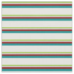 [ Thumbnail: Green, Light Grey, Dark Red, Dark Cyan, Mint Cream Fabric ]