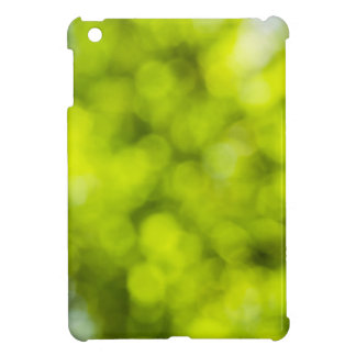 Green  Light Sparkles Design iPad Mini Case