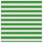 [ Thumbnail: Green & Light Yellow Colored Lines Fabric ]