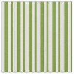 [ Thumbnail: Green & Light Yellow Colored Pattern Fabric ]