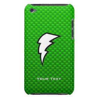 Green Lightning Bolt iPod Touch Cases