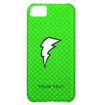 Green Lightning Bolt Case For iPhone 5C