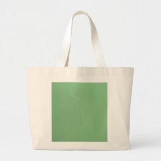Green Lightning Large Tote Bag