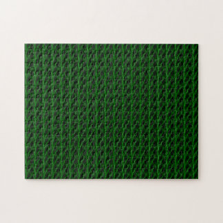 Green Lightning Look Jigsaw Puzzle