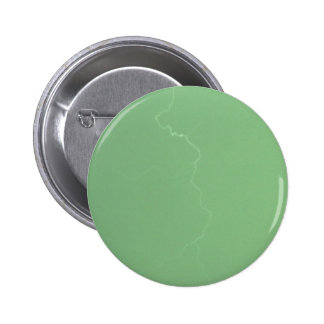 Green Lightning Pinback Button