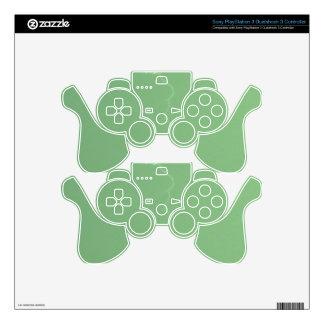 Green Lightning PS3 Controller Skins
