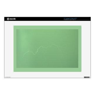 Green Lightning Skin For Laptop