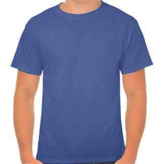 Green Lights and Ham Men's Blue T-Shirt