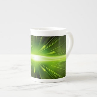 Green Lights Bone China Mug