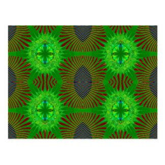 green lights postcard