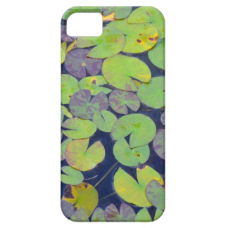 Green lily pad pattern iPhone SE/5/5s case