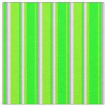 [ Thumbnail: Green, Lime, Dark Gray, and Light Yellow Pattern Fabric ]