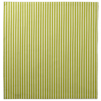 Green Lime Fashion Retro Striped Napkin